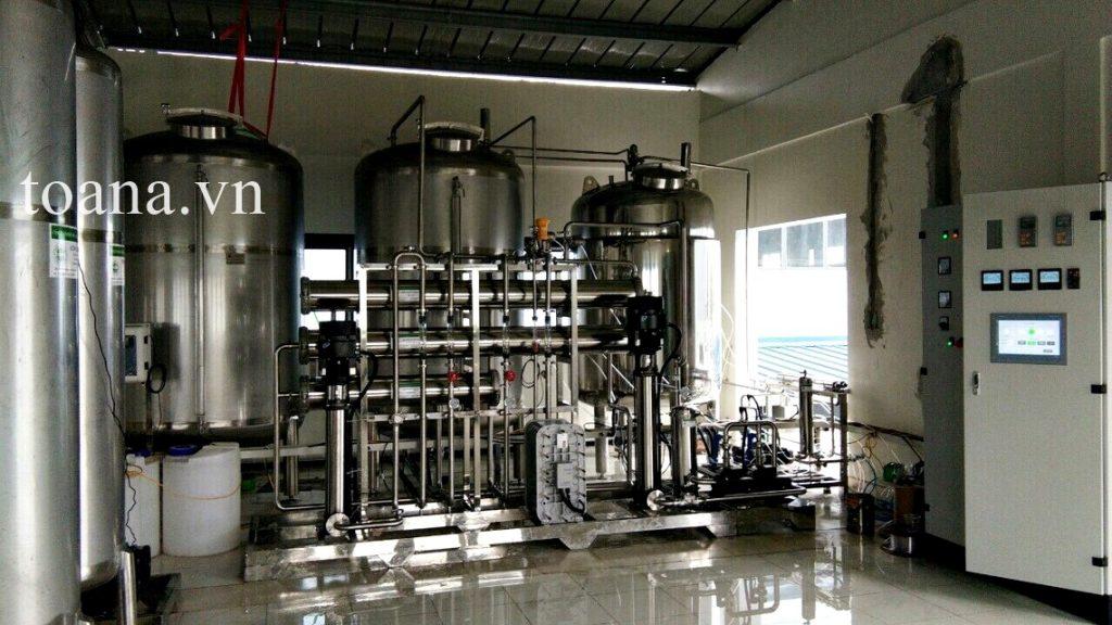 công nghệ xử lý nước edi